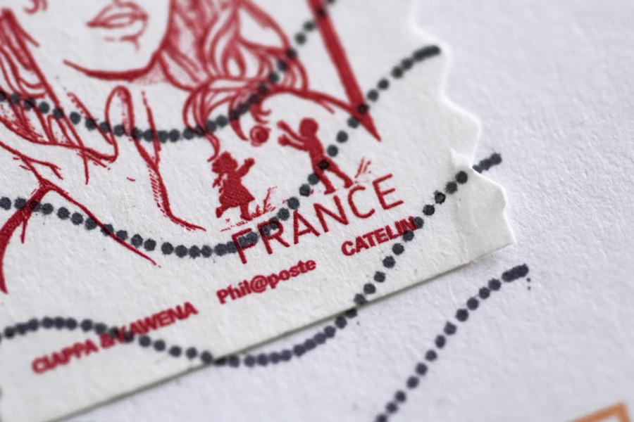 国の特徴や個性が光る世界の切手デザイン作成例について