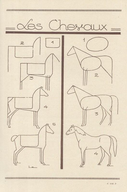 馬の描き方
