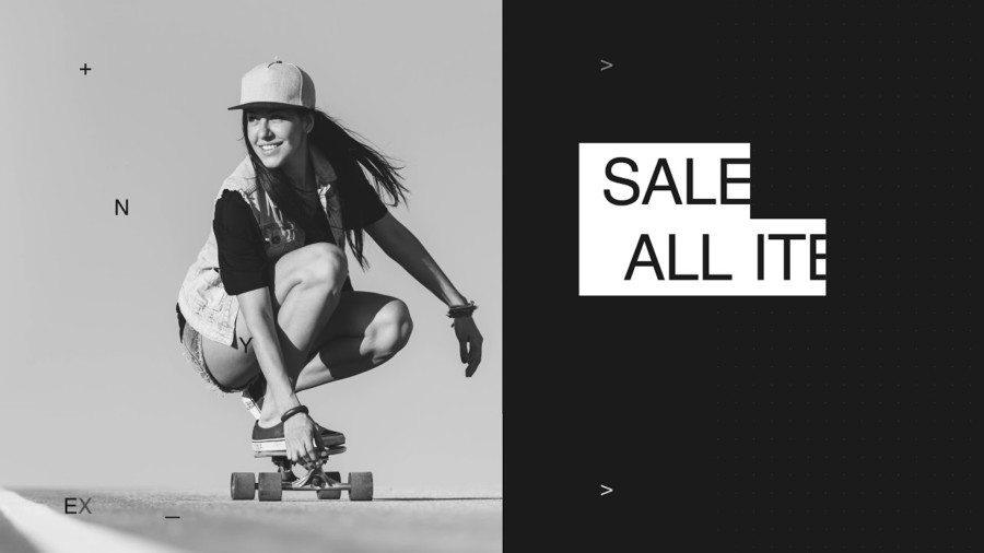 スタイリッシュなスケートボードブランドの動画制作例