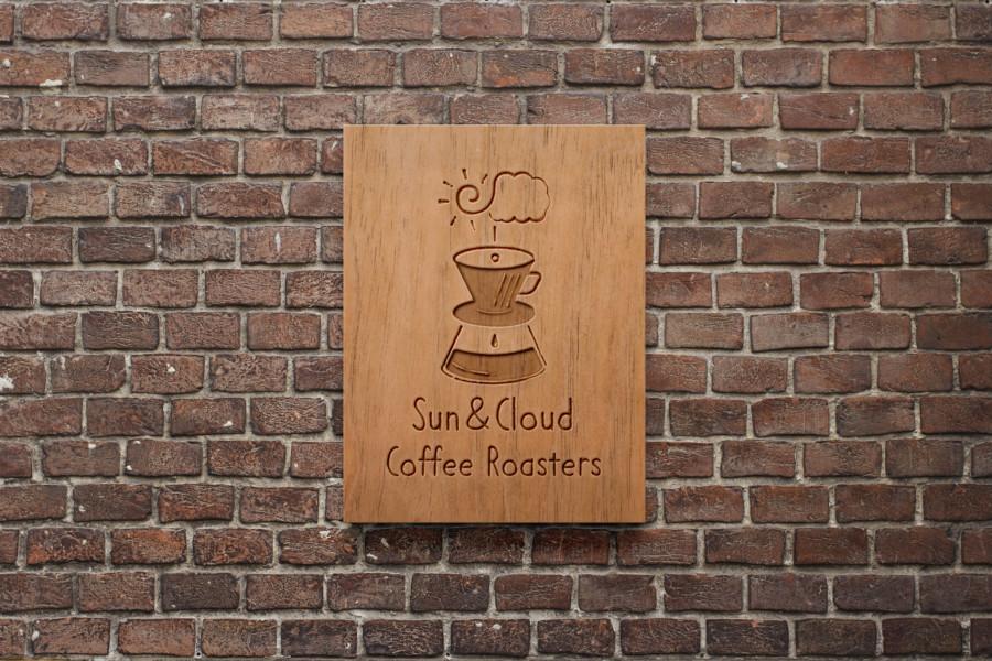 コーヒーロースターのロゴデザイン