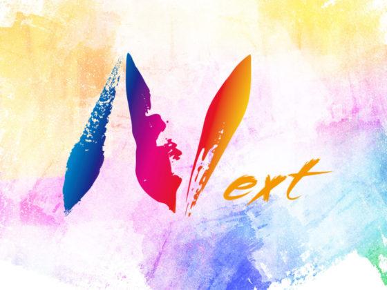 建設・塗装会社のカラフルなロゴデザイン
