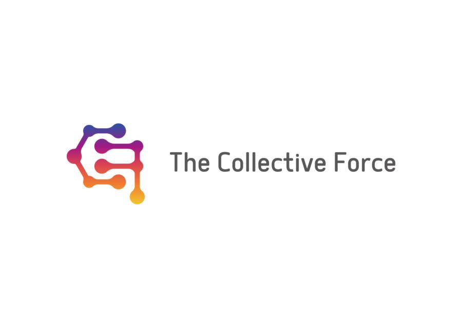 集合力を表現した企業ロゴ