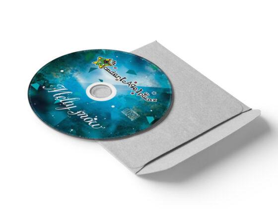 アーティストのCD盤面デザイン