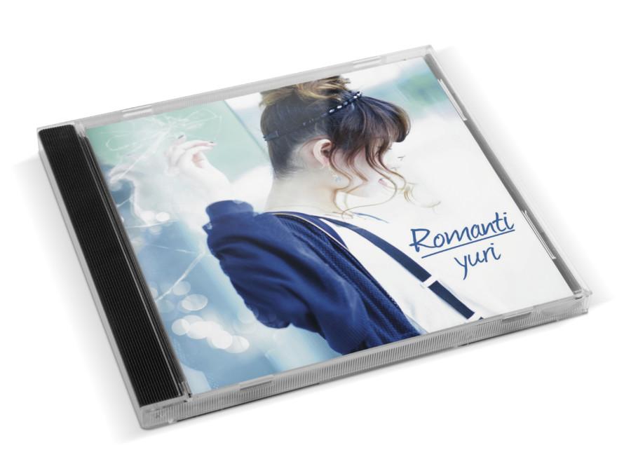 シンガーソングライターのCDジャケットデザイン