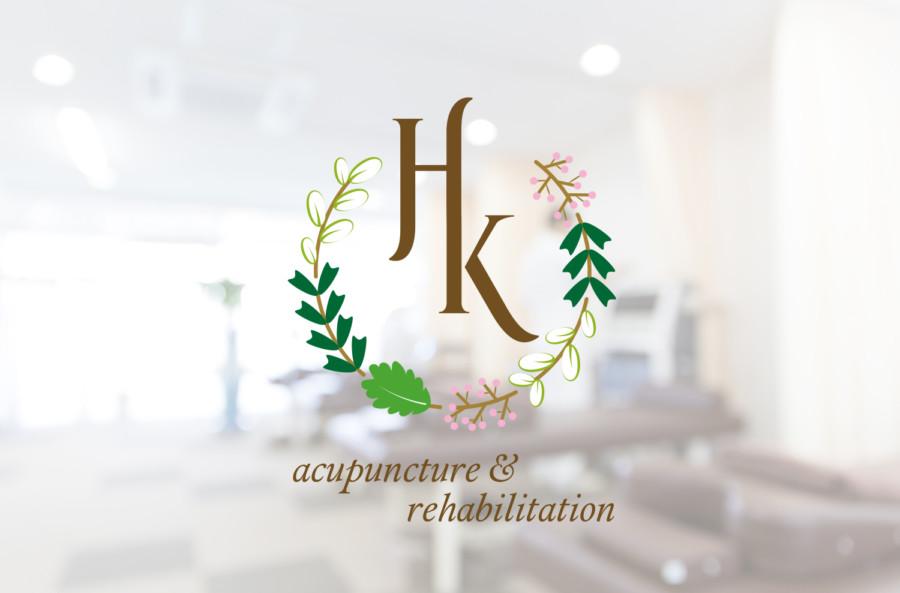 柔らかな鍼灸整骨院のロゴデザイン