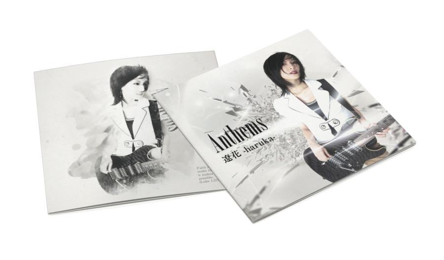 ロックミュージシャンの歌詞カードデザイン
