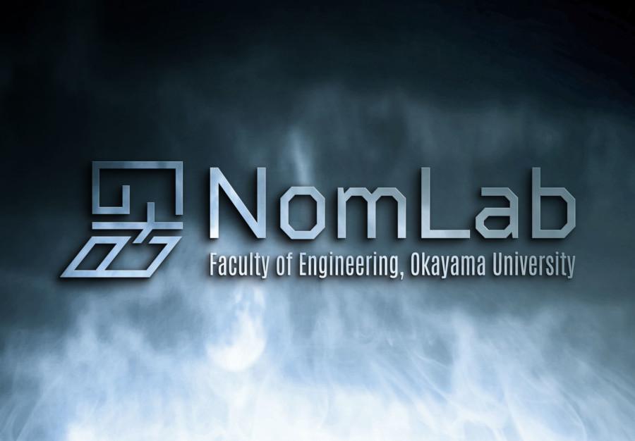大学のラボのロゴデザイン展開イメージ