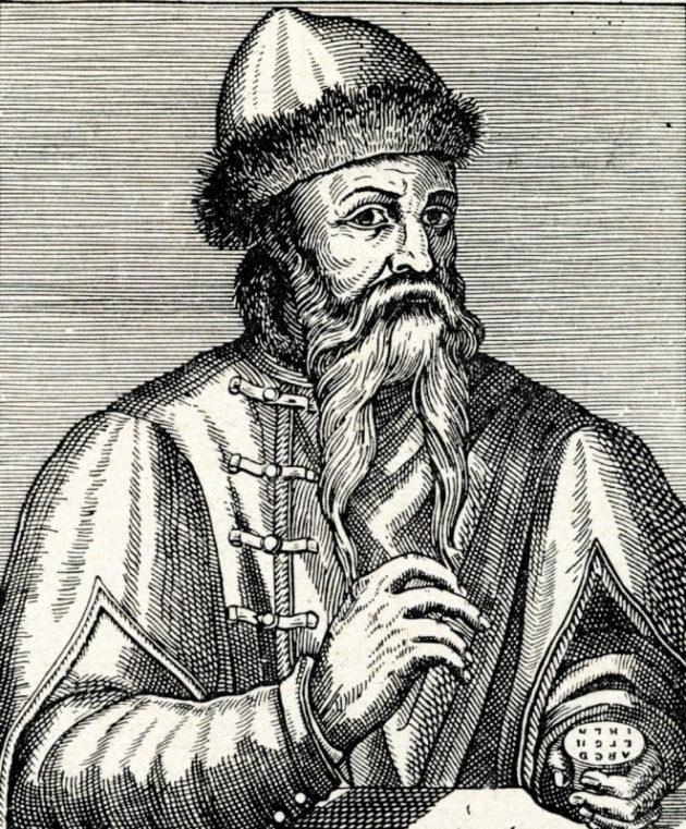 ヨハネス・グーテンベルク(Johannes Gutenberg)