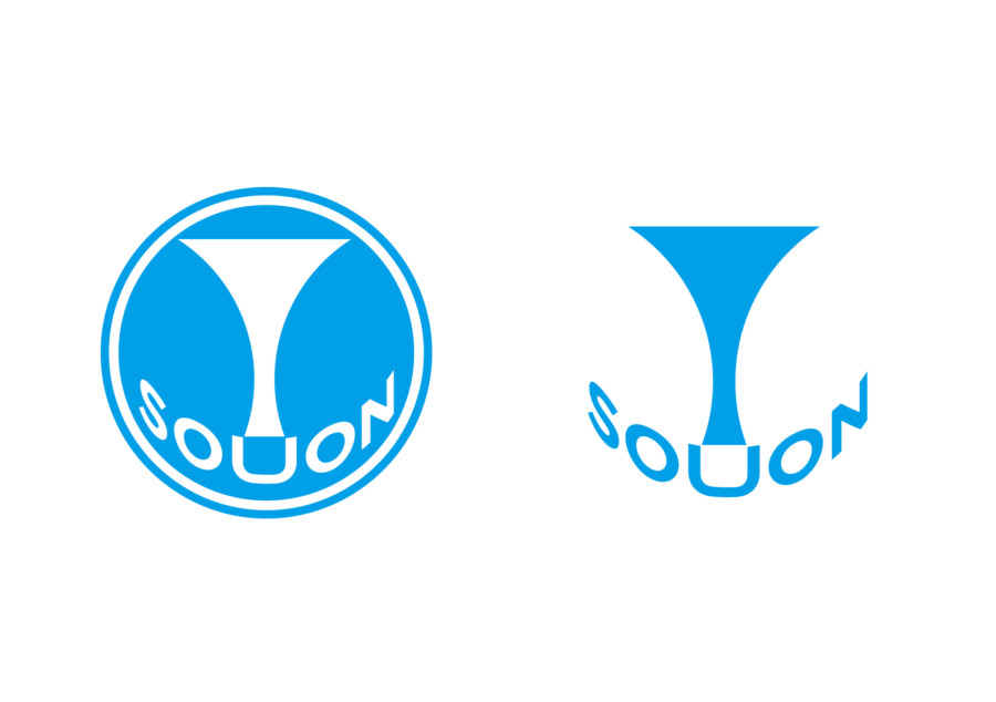 三味線サークルのミニマルなロゴ