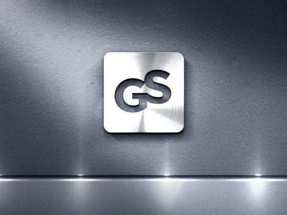 特殊鋼の輸入販売企業のロゴデザイン
