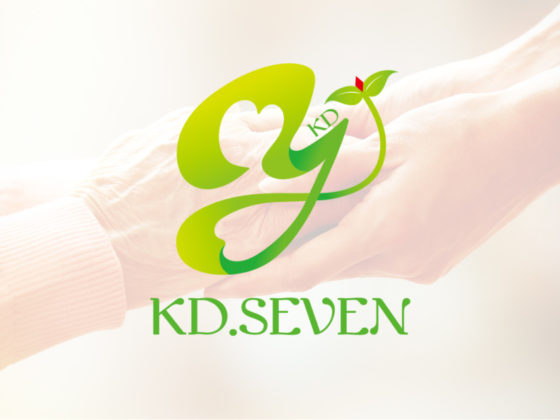 介護福祉企業のロゴデザイン