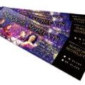 ヴァイオリン&声楽のコンサートチケットデザインを作成しました。