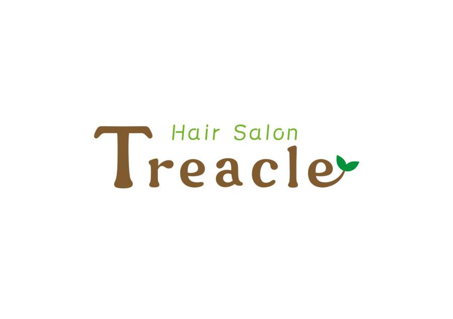 優しい風合いのヘアサロンのロゴ