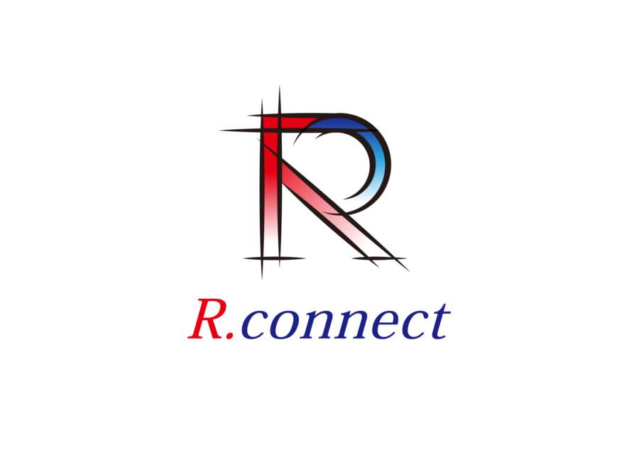 人の繋がり・仕事のスピード感を表現した不動産会社のロゴ制作例