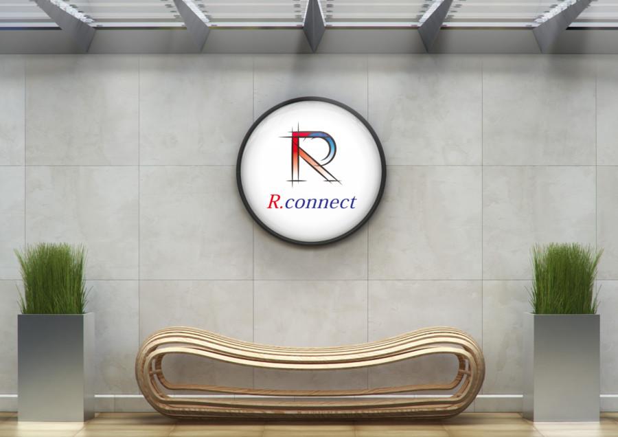人の繋がり・仕事のスピード感を表現した不動産会社のロゴデザイン
