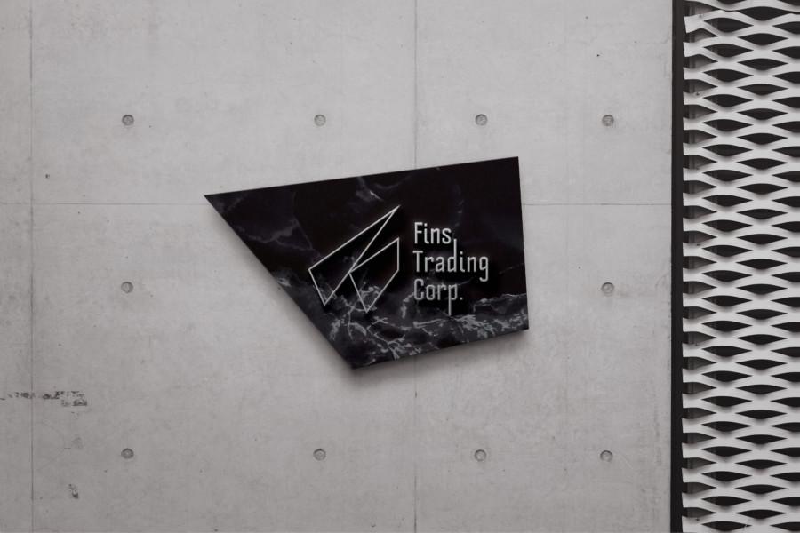 輸入販売代理・貿易会社のロゴ_ブランデイング
