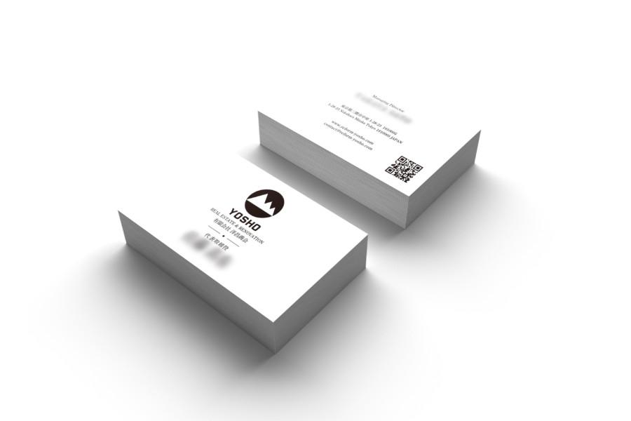 地域密着型リフォーム会社の名刺作成例
