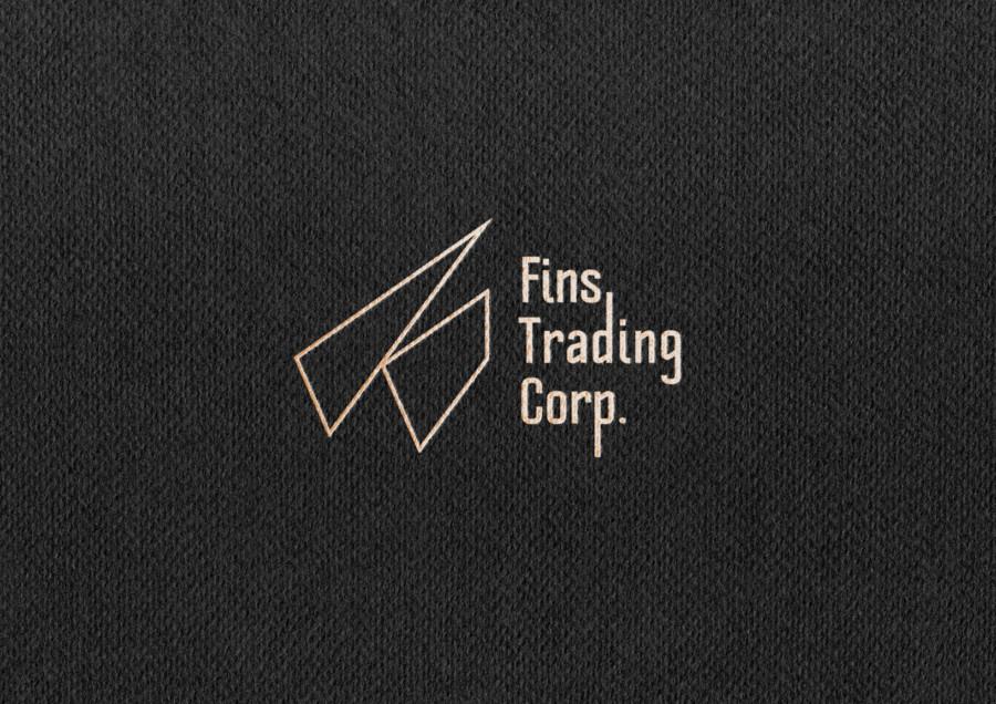 輸入販売代理・貿易会社のロゴデザイン