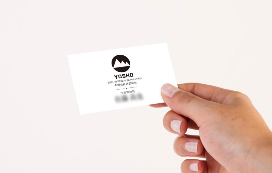 地域密着型リフォーム会社の名刺デザイン