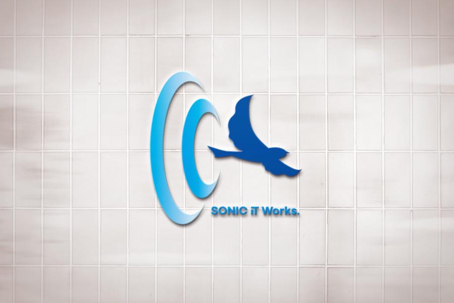 ソフトウェア開発会社の企業ロゴデザイン