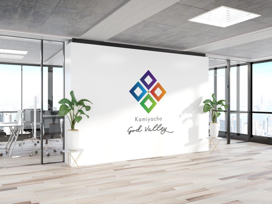 地域発展・コミュニティ推進ブランドのロゴデザイン