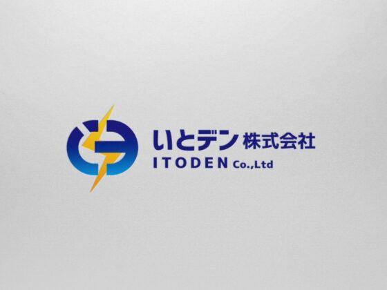 地域に根ざした電気店のロゴデザイン