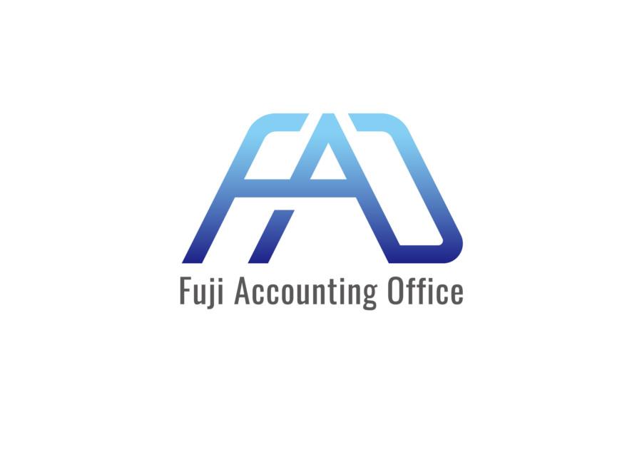 会計事務所の富士山がモチーフのロゴ