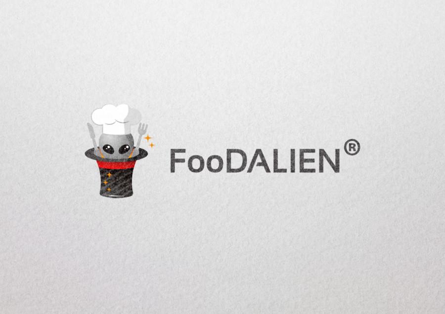食品卸事業会社のロゴデザイン