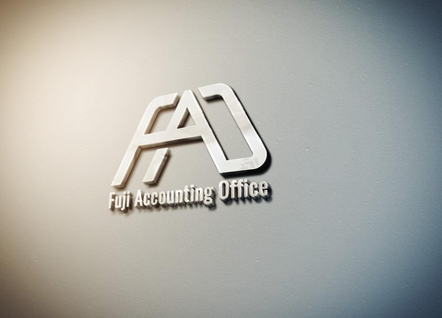 会計事務所の富士山がモチーフのロゴデザイン