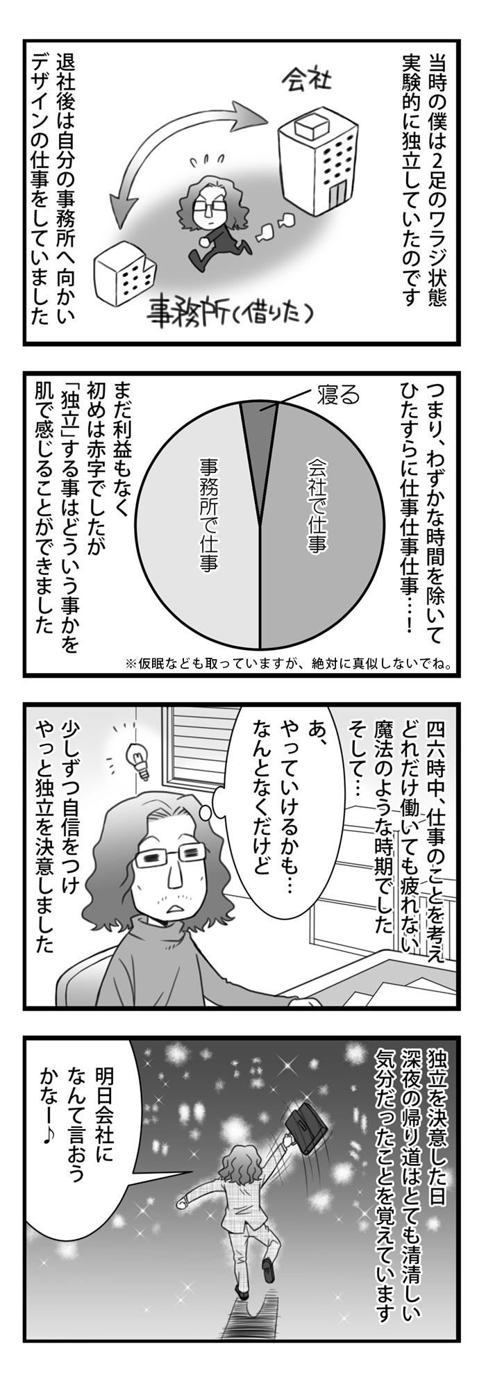 漫画 頑張れデザイナー22