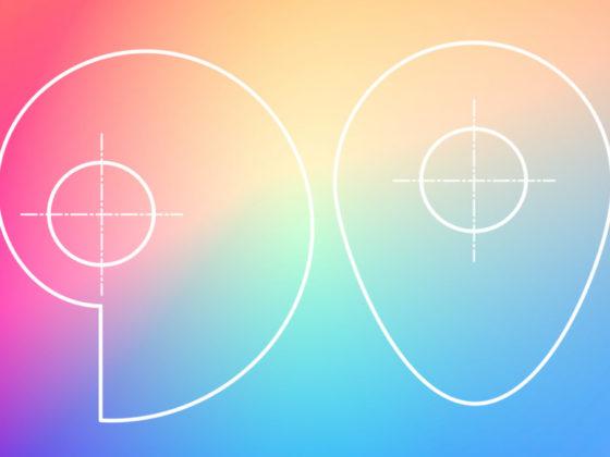 ビジュアルデザインの要素と原則について