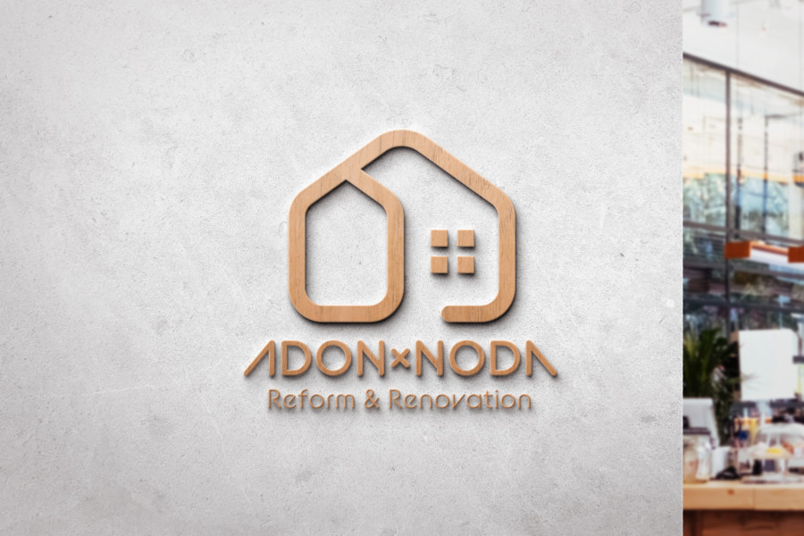 リフォーム・リノベーション会社のロゴデザイン_1