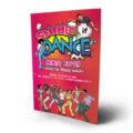 ビビッドなダンス発表会の折パンフレットデザインを作成しました。
