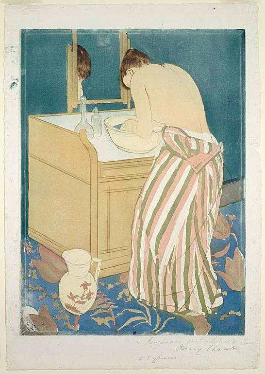 画家メアリー・カサットの作品