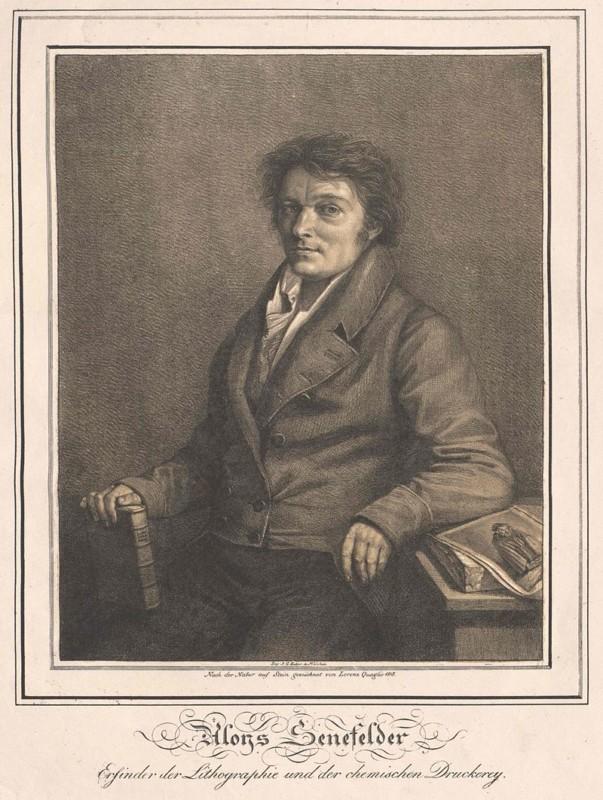 アロイス・ゼネフェルダーの肖像画