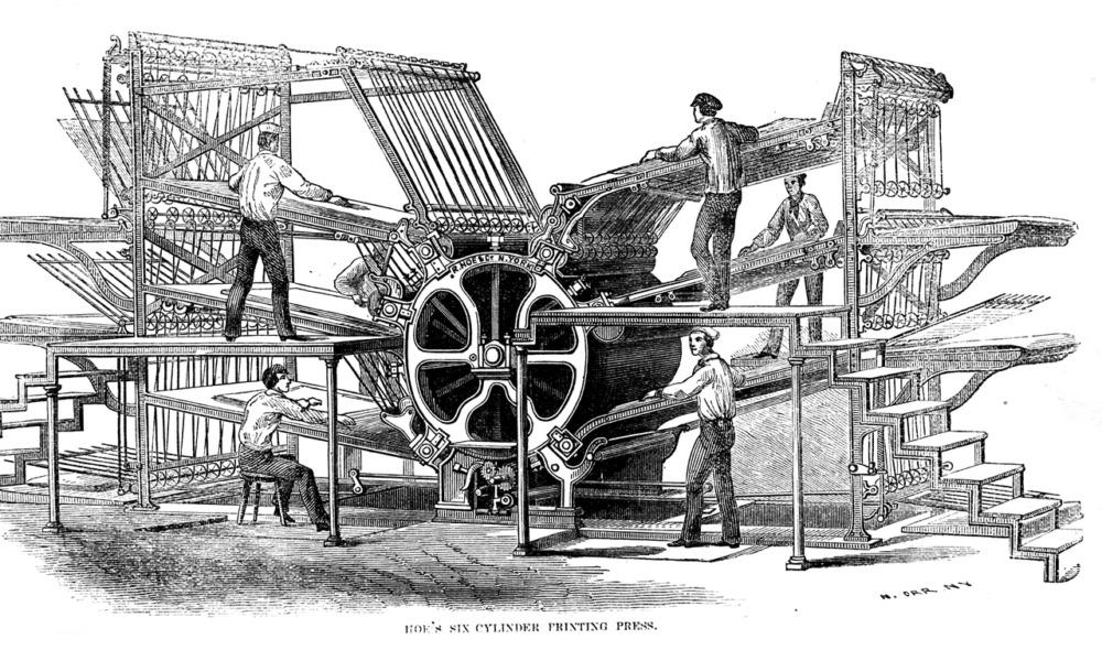 ホー式輪転機