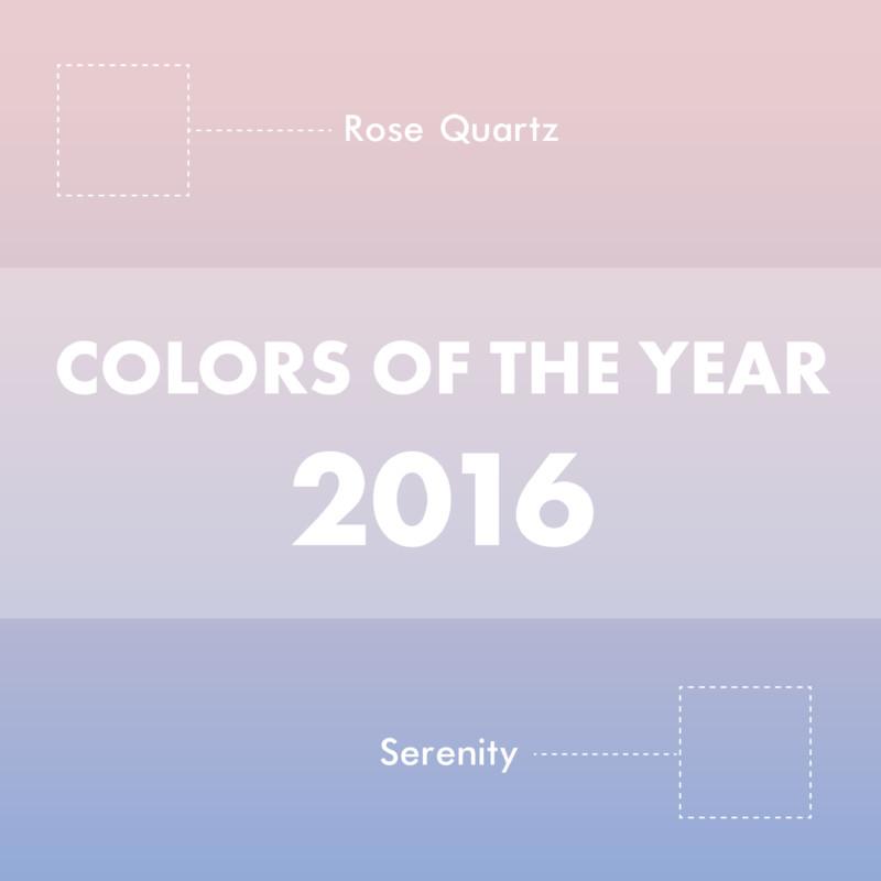 2016年のカラー・オブ・ザ・イヤー