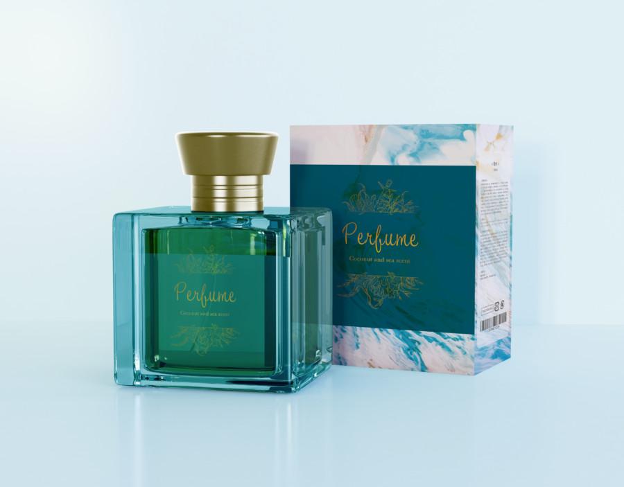 香水のパッケージデザイン事例