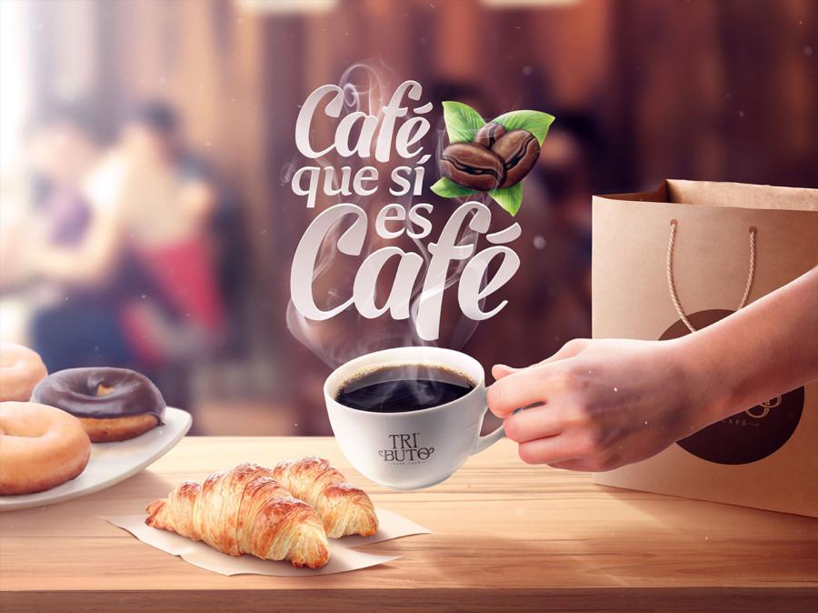 カフェのビジュアルデザイン1