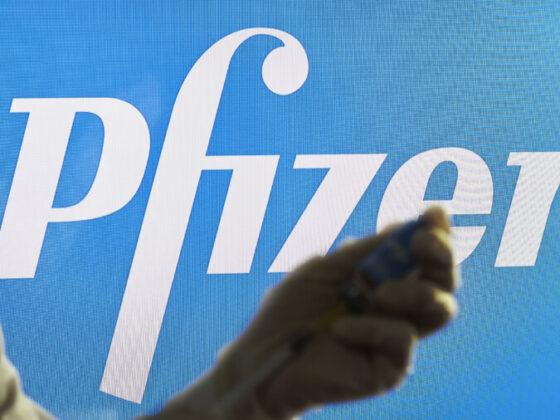ファイザー社のロゴ