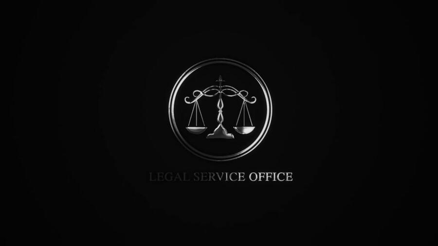 法律事務所のモーションロゴデザイン