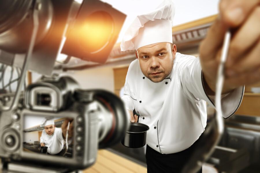 飲食店の動画撮影