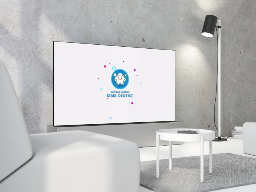 歯科医院のモーションロゴ作成例_D