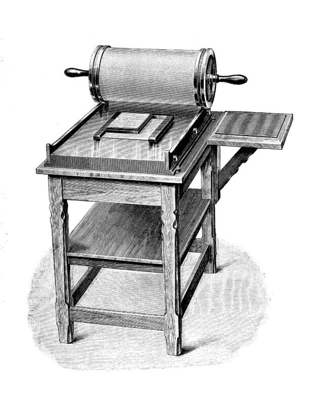 謄写版印刷機