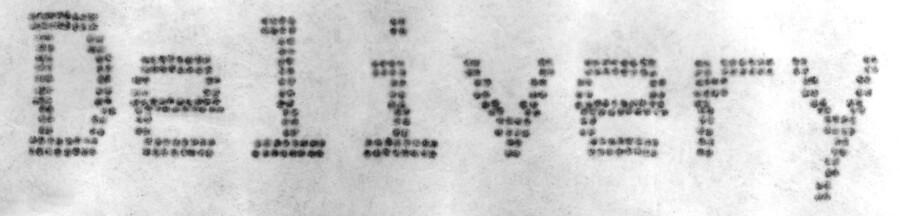 文字の印刷