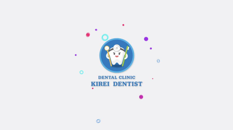 歯科医院のモーションロゴデザイン