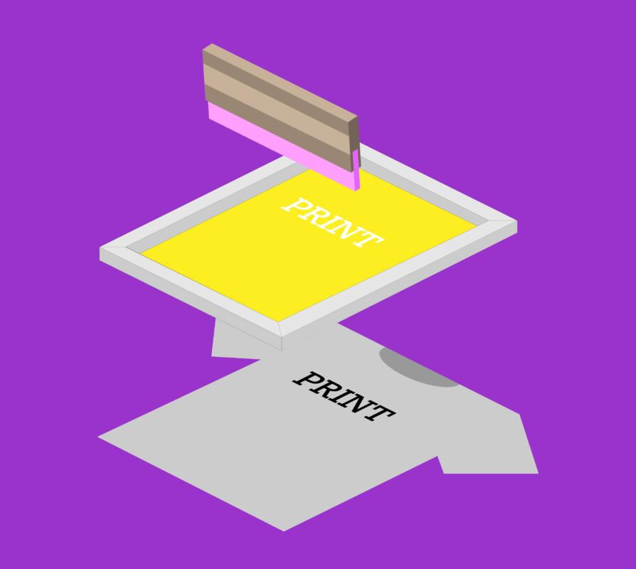 スクリーン印刷の仕組み