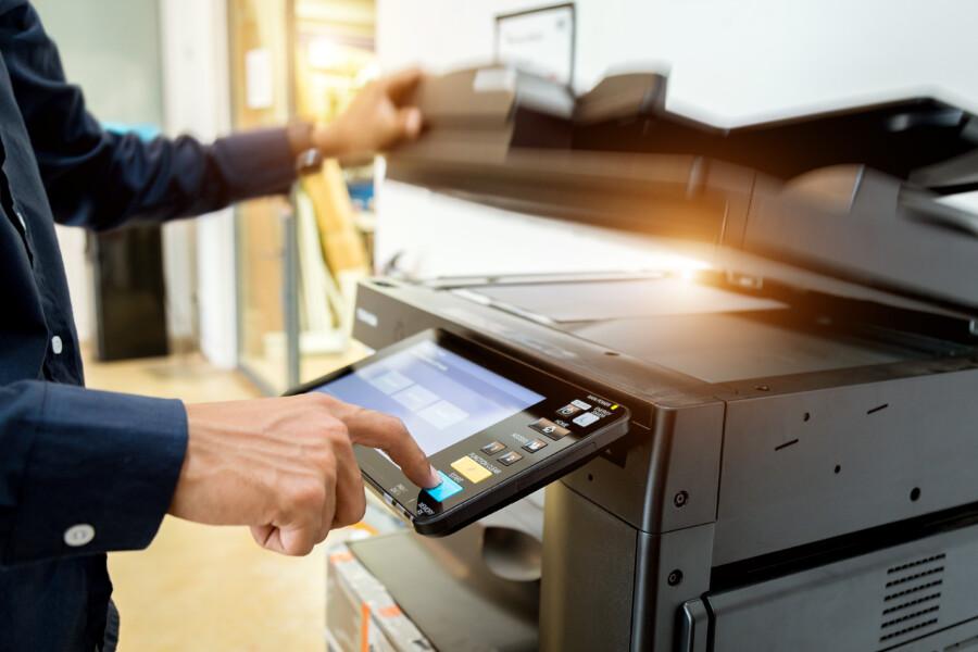 レーザー印刷について