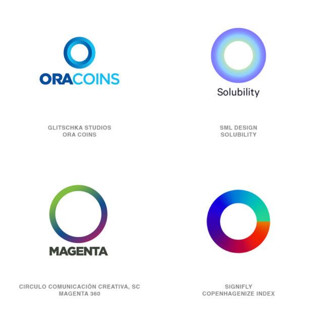 ロゴデザインのトレンド11【Oリング】