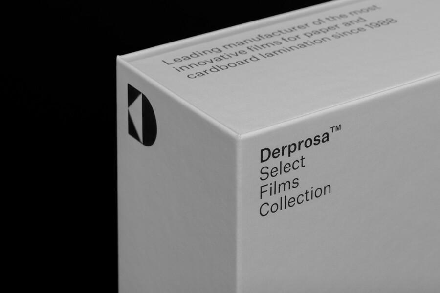 ラミネート用フィルム会社のロゴデザイン作例